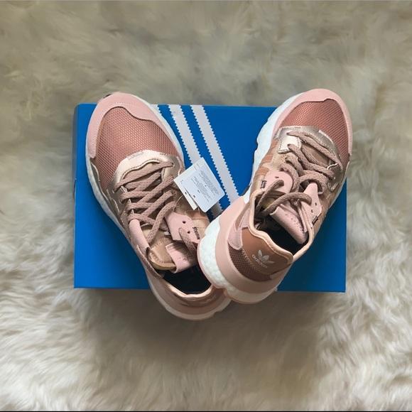adidas night jogger rose gold